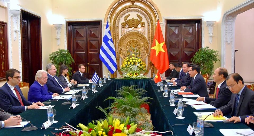 Làm sâu sắc hơn quan hệ hữu nghị và hợp tác tốt đẹp giữa Việt Nam và Hy Lạp