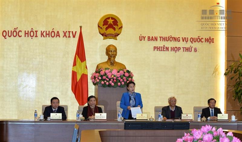 Phân công chuẩn bị phiên họp thứ 7 của Ủy ban Thường vụ Quốc hội