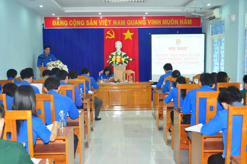 Bình Thuận: Sơ kết thực hiện Chỉ thị 42 CT/TW của Ban Bí thư Trung ương Đảng