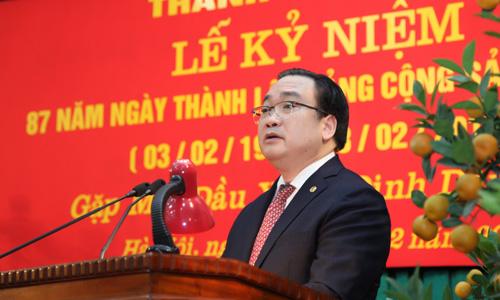 Đảng bộ Hà Nội kỷ niệm 87 năm Ngày thành lập Đảng Cộng sản Việt Nam