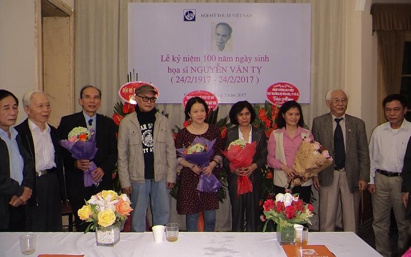 Kỷ niệm 100 năm ngày sinh họa sỹ Nguyễn Văn Tỵ