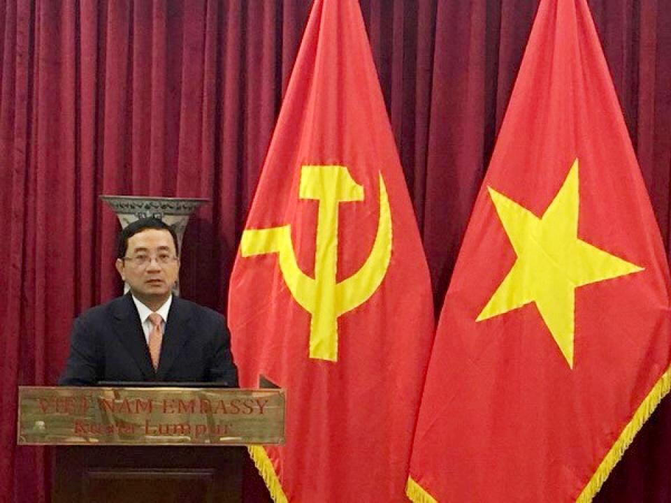 Kỷ niệm 87 năm thành lập Đảng Cộng sản Việt Nam tại Malaysia