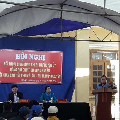Phú Xuyên (Hà Nội): Nâng cao chất lượng đối thoại, tiếp công dân trong giải quyết khiếu nại, tố cáo