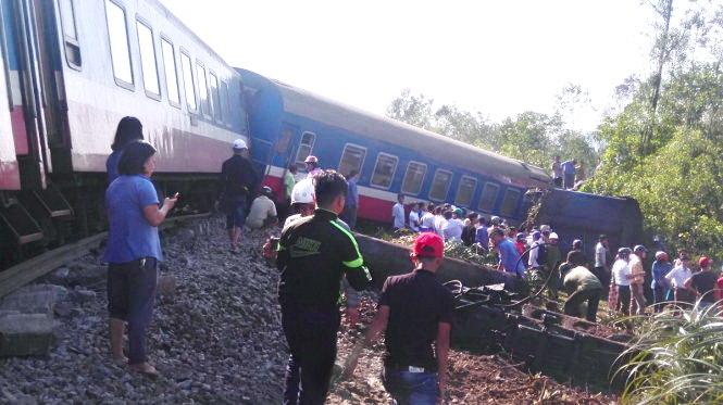 Khắc phục hậu quả vụ tai nạn đường sắt làm 3 người chết
