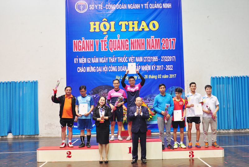 Sôi nổi Hội thao ngành Y tế Quảng Ninh năm 2017