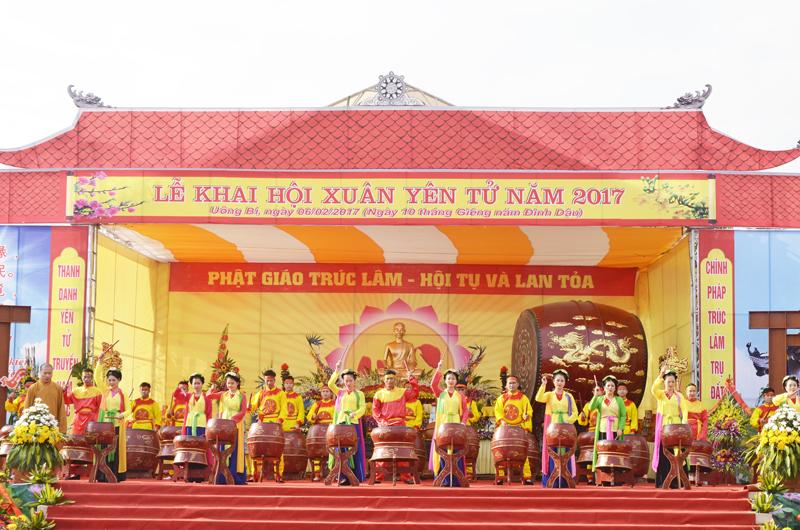 Khai hội Xuân Yên Tử 2017