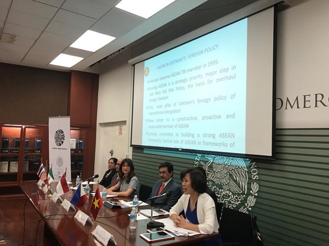 Thúc đẩy quan hệ song phương giữa Mexico với các nước thành viên ASEAN