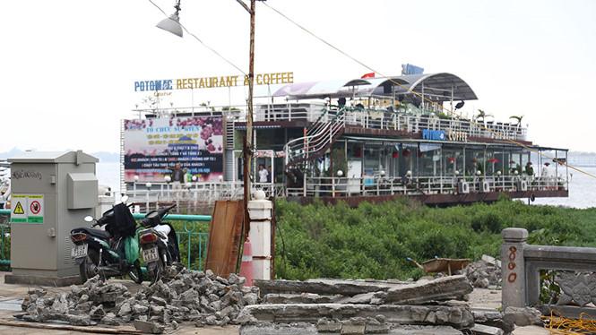 Cưỡng chế, dỡ bỏ các công trình vi phạm thuộc nhà nổi và du thuyền ở Hồ Tây, Hà Nội
