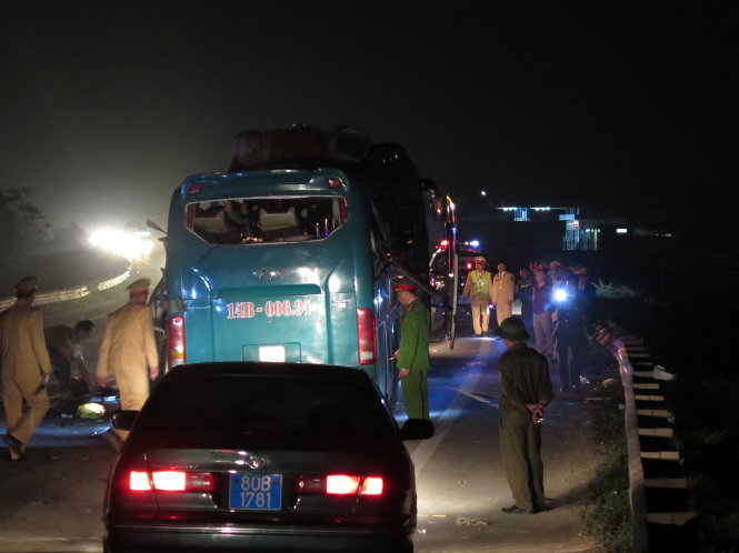 Khẩn trương khắc phục hậu quả vụ nổ xe khách tại Bắc Ninh