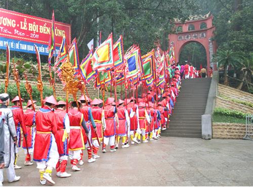 Lễ hội đền Hùng năm 2017 sẽ diễn ra trong 6 ngày