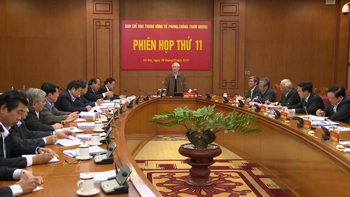 Đấu tranh phòng, chống tham nhũng theo tinh thần Nghị quyết Đại hội XII của Đảng
