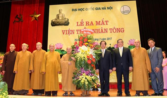 Lễ ra mắt Viện Trần Nhân Tông - Cơ sở giáo dục đầu tiên của Việt Nam đào tạo tiến sĩ Phật học