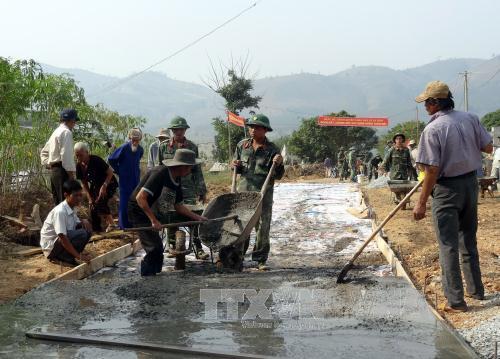 Kon Tum phát động thi đua chung sức xây dựng nông thôn mới
