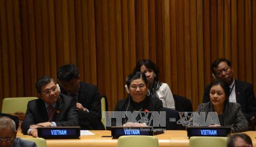 Việt Nam sẵn sàng chung tay với cộng đồng quốc tế bảo vệ môi trường biển