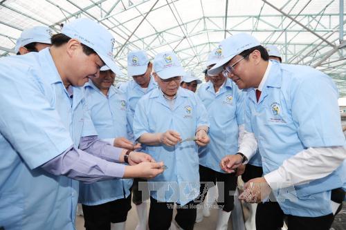 Tổng Bí thư Nguyễn Phú Trọng thăm, làm việc tại tỉnh Bạc Liêu