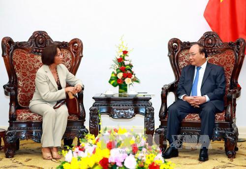 Thủ tướng Nguyễn Xuân Phúc tiếp Đại sứ Timor Leste