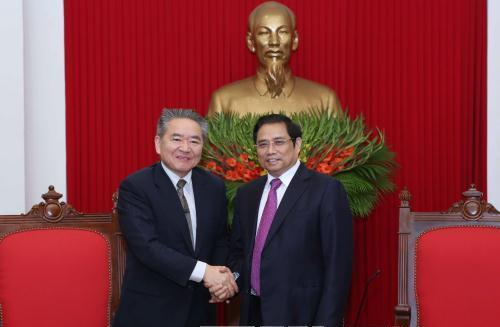 Phó Chủ tịch Đảng kiêm Trưởng Ban Quốc tế Đảng Cộng sản Nhật Bản thăm Việt Nam