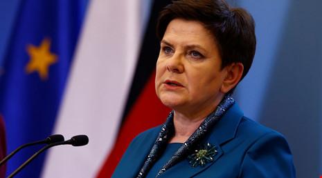 Thủ tướng Ba Lan bị thương do tai nạn ô tô