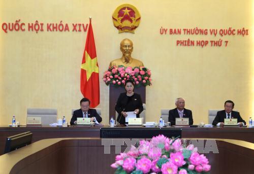 Thông cáo Phiên họp thứ 7 của Ủy ban Thường vụ Quốc hội khóa XIV