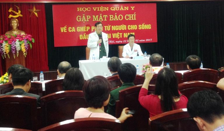 Công bố ca ghép phổi thành công đầu tiên tại Việt Nam
