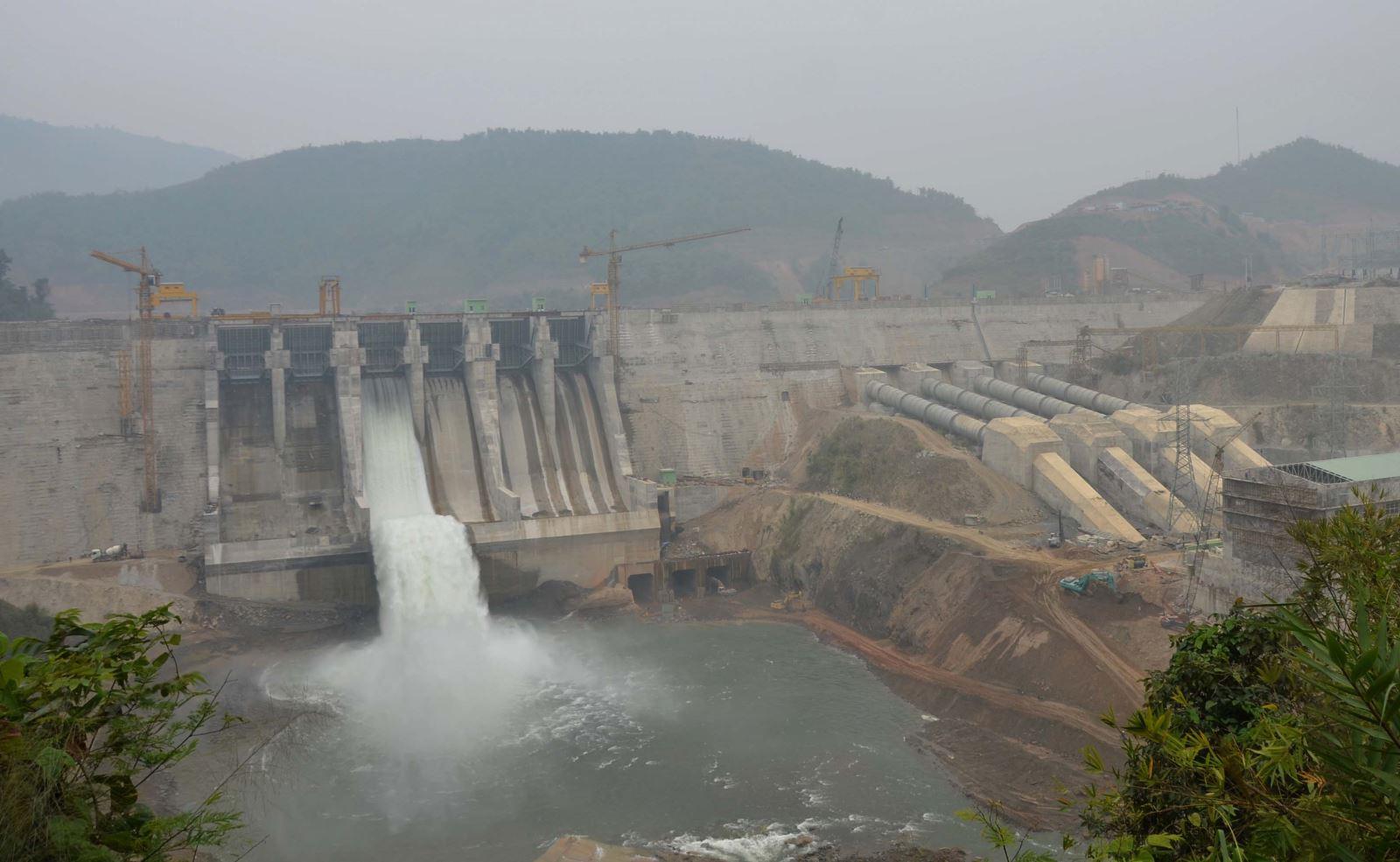 Tổ máy 1 Thủy điện Trung Sơn chính thức hòa lưới điện quốc gia
