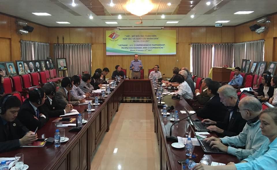 """Tọa đàm """"Việt – Mỹ đối tác toàn diện, hợp tác và giao lưu nhân dân"""""""