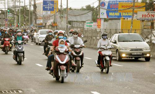 Xử lý trên 9.700 trường hợp vi phạm trật tự an toàn giao thông trên tuyến quốc lộ 1A sau Tết Đinh Dậu