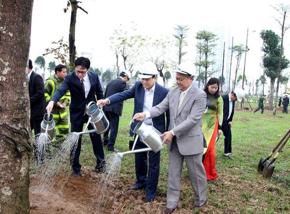 """Hà Nội phát động """"Tết trồng cây đời đời nhớ ơn Bác Hồ"""""""