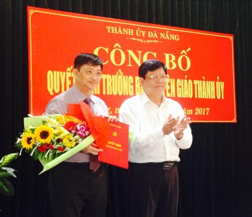Đà Nẵng có Trưởng Ban Tuyên giáo Thành ủy mới