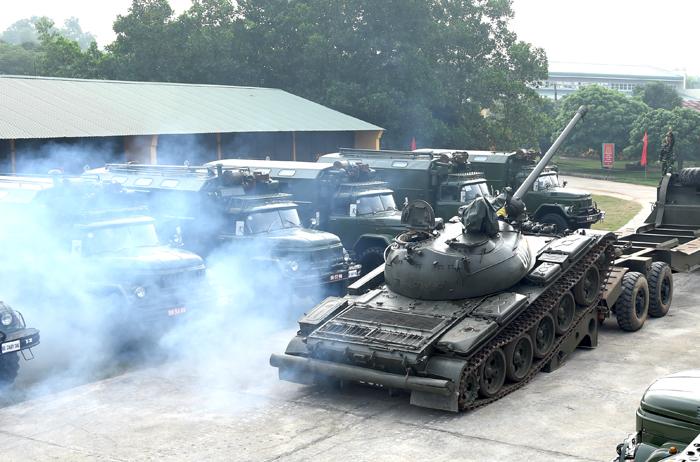 ''Công viên'' lính thợ xe tăng