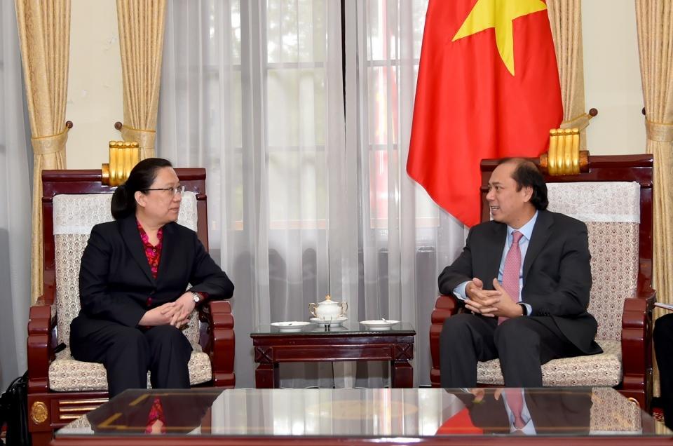 Bà Hy Tuệ được bổ nhiệm làm Tổng Lãnh sự Trung Quốc tại Đà Nẵng