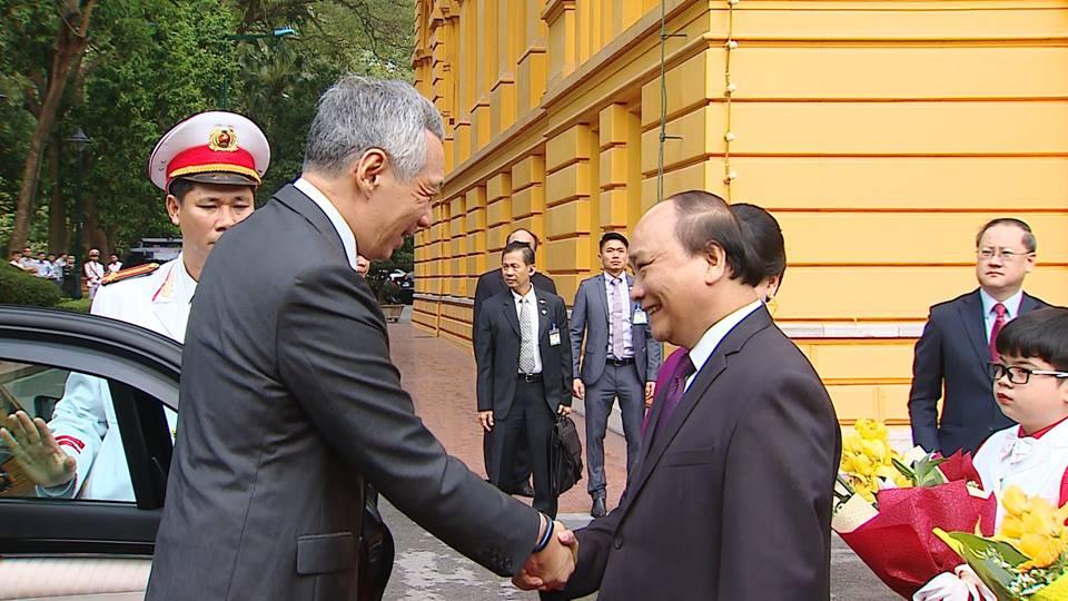Tuyên bố chung Việt Nam - Xinh-ga-po