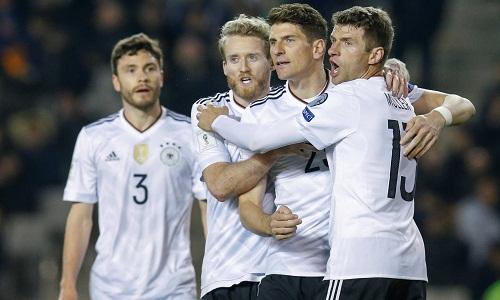 Tuyển Đức toàn thắng cả 5 trận tại vòng loại World Cup