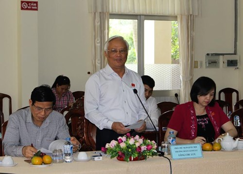 Phó Chủ tịch Quốc hội Uông Chu Lưu: Cần Thơ cần đẩy mạnh công tác xã hội hóa ở các lĩnh vực để tinh giản biên chế