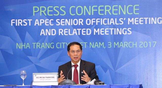 APEC 2017: SOM 1 đặt ra định hướng hợp tác của khu vực trong cả năm 2017
