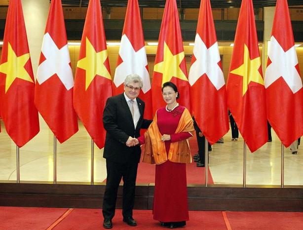 Tăng cường quan hệ hữu nghị giữa các cơ quan lập pháp hai nước Việt Nam - Thụy Sỹ