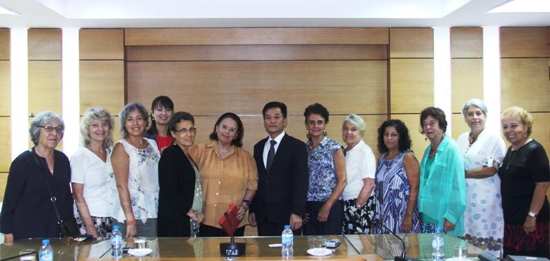Thắt chặt tình hữu nghị, đoàn kết giữa nhân dân Việt Nam và Argentina