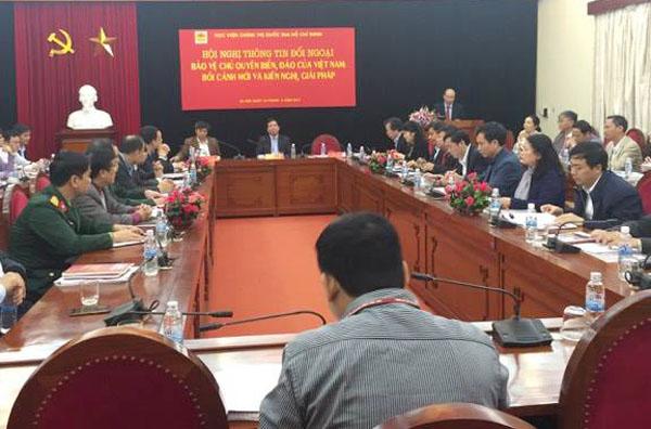 Bảo vệ chủ quyền biển, đảo của Việt Nam: Bối cảnh mới và kiến nghị, giải pháp