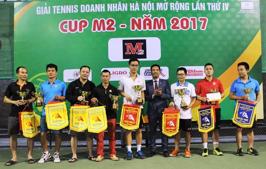 Sôi nổi giải Tennis Doanh nhân Hà Nội mở rộng lần thứ 4