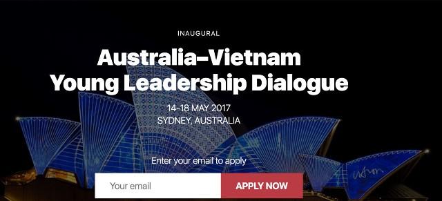 Công bố danh sách đại biểu tham dự Diễn đàn Đối thoại lãnh đạo trẻ Việt-Úc 2017