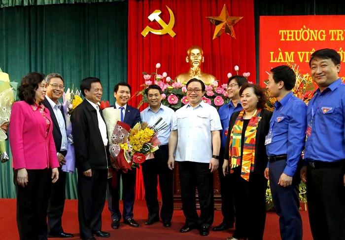 """Bí thư Thành ủy Hà Nội: """"Đặt trọn niềm tin yêu vào thế hệ trẻ Thủ đô"""""""