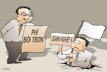 """Phí """"bôi trơn"""" và tham nhũng chính sách"""