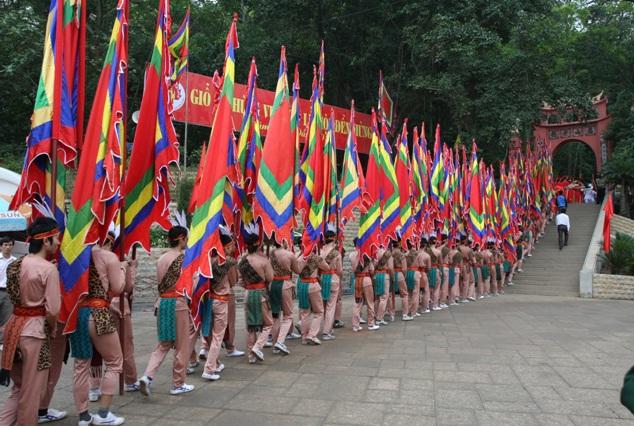 Giỗ Tổ Hùng Vương - Lễ hội Đền Hùng năm 2017 được tổ chức trong 6 ngày