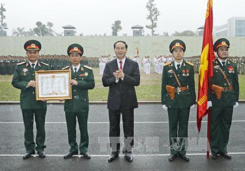 Chủ tịch nước Trần Đại Quang dự Lễ kỷ niệm 50 năm Ngày truyền thống Binh chủng Đặc công