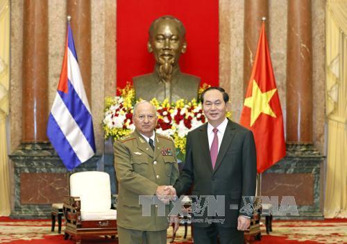 Chủ tịch nước Trần Đại Quang: Việt Nam luôn bên cạnh Cuba trong bất cứ hoàn cảnh khó khăn nào