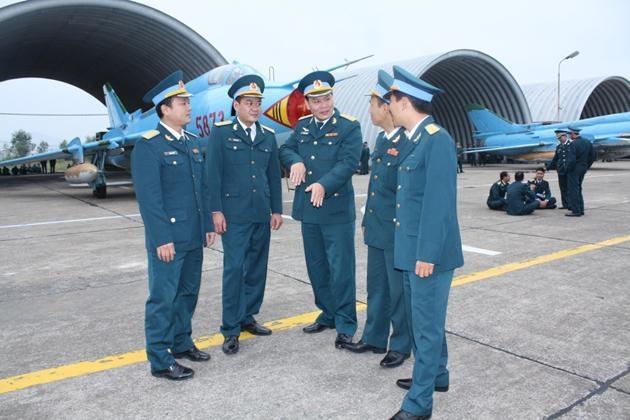 """Xứng đáng với """"cái nôi"""" của Không quân nhân dân Việt Nam"""
