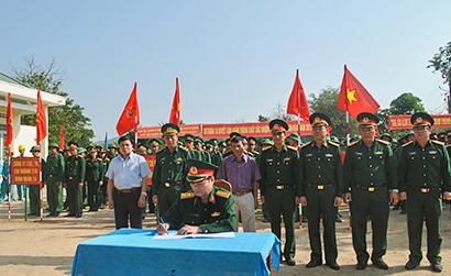 Kon Tum: Các đơn vị quân đội trên địa bàn ra quân làm công tác dân vận