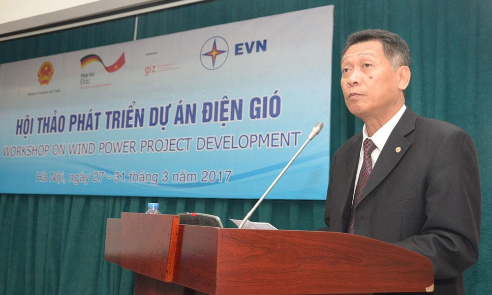 Hội thảo về phát triển dự án điện gió