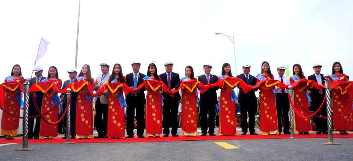 Quảng Nam: Khánh thành cầu Giao Thuỷ bắc qua sông Thu Bồn