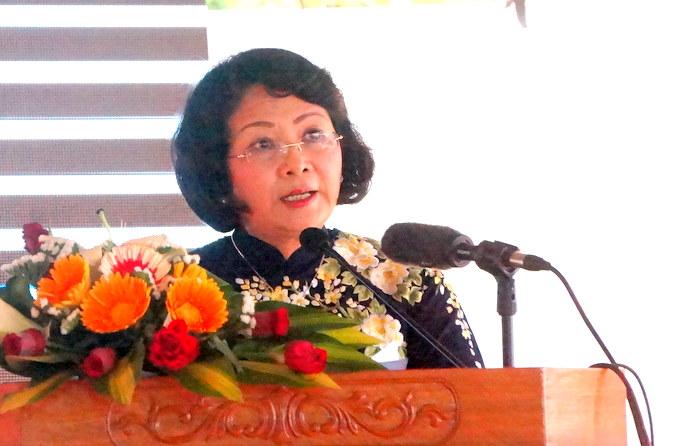 Phó Chủ tịch nước Đặng Thị Ngọc Thịnh: Quảng Nam tiếp tục quan tâm sửa chữa, nâng cấp, quản lý an toàn hồ đập
